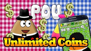 Download Cheat POU APK + MOD [ Unlimited Coins ]