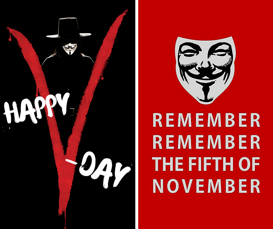 Happy 5th of November!