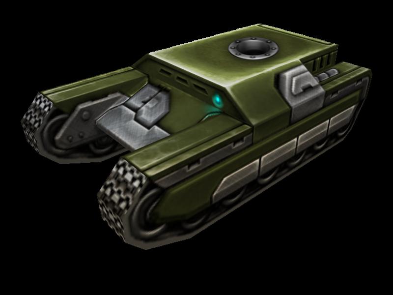 Слабая защищённость танка