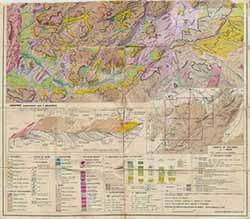 الخريطة الجيومورفولوجية الحاجب Carte Géomorphologique El-Hajeb الخريطة الجيومورفولوجية عين اللوح Carte Géomorphologique Ain Leuh الخريطة الجيومورفولوجية كروشن Carte Géomorphologique Kerrouchen الخرائط الجيومورفولوجية للأطلس المتوسط Cartes Géomorphologiques Moyen Atlas