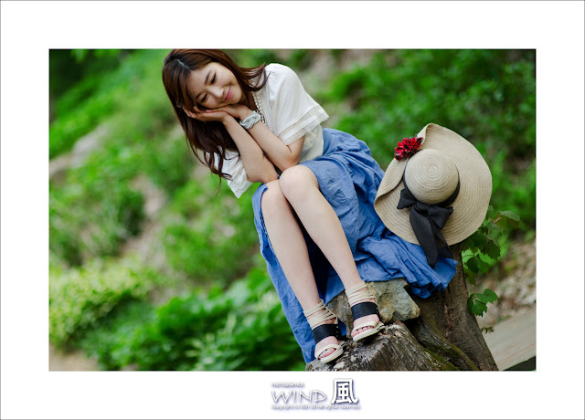 4 Jo Sang Hi - Beautiful Outdoor-very cute asian girl-girlcute4u.blogspot.com
