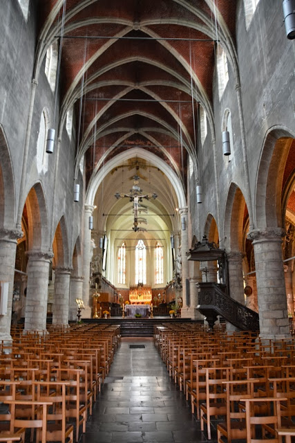 St Hermes church Ronse