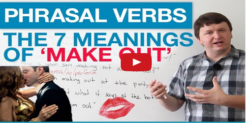 Meanings of Make Out