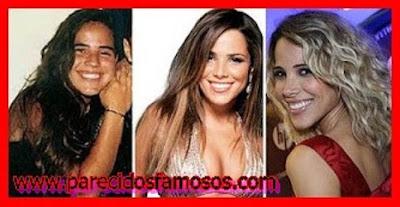 Wanessa Camargo Cantante Brasileña  antes y después
