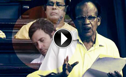 rahul-caught-snoozing-in-lok-sabha