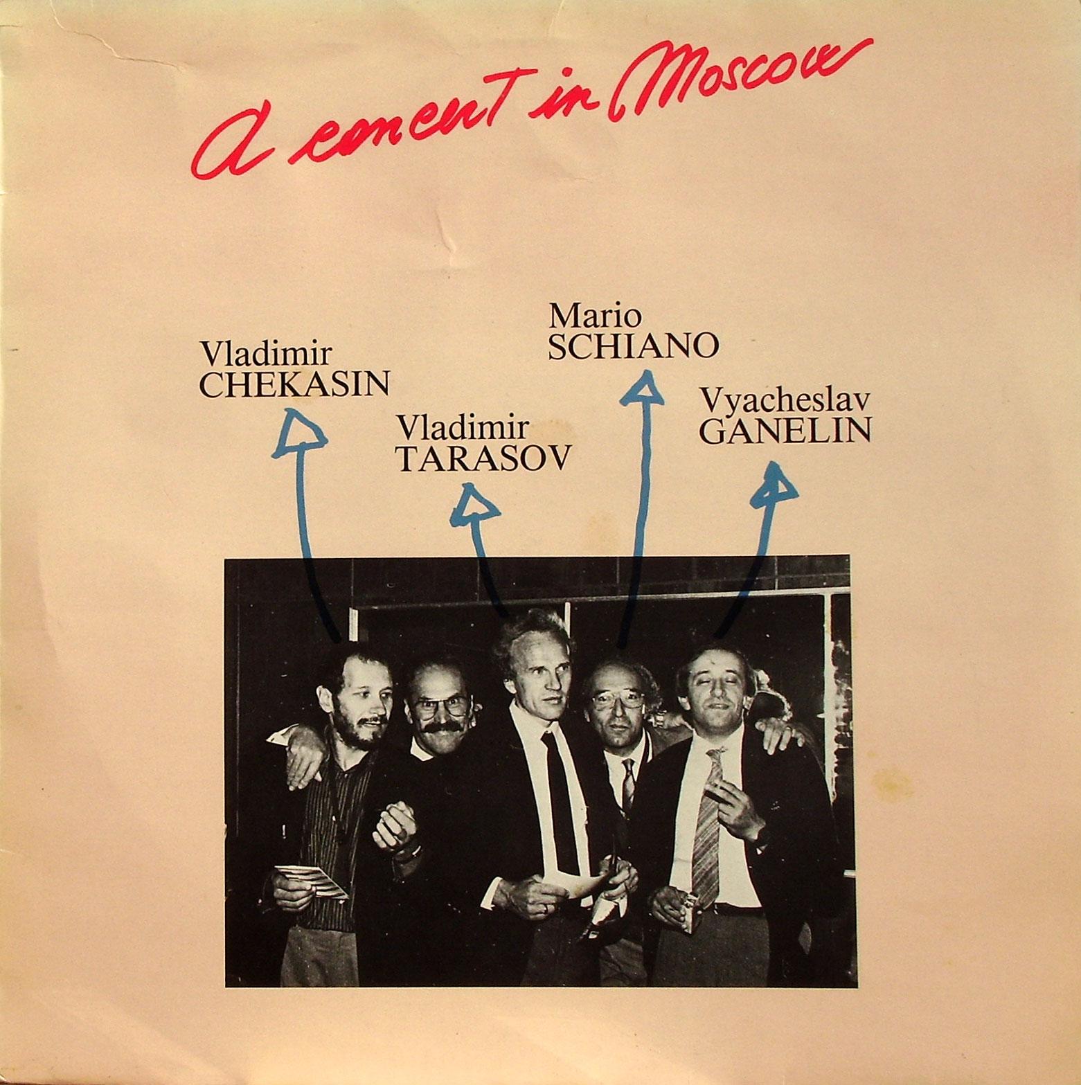 The Vladimir Chekasin Quartet Nostalgia