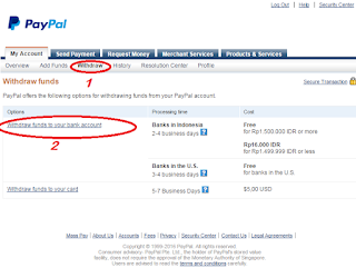 How do I see the current PayPal exchange rate?