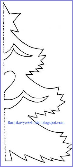 Вырезать елочка из бумаги своими руками