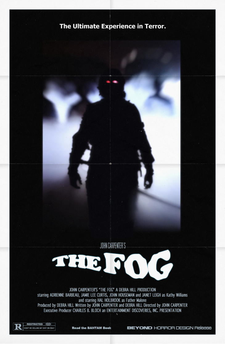 BEYOND HORROR DESIGN FOG THE John Carpenter 1980