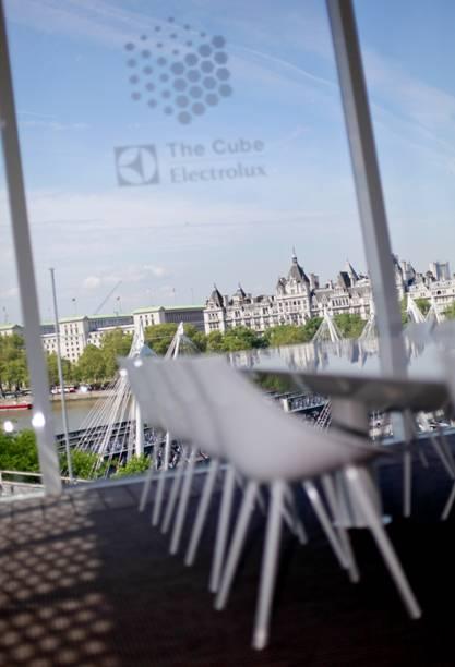 El restaurante efímero THE CUBE ELECTROLUX lleva a Londres su exclusivo concepto gastronómico