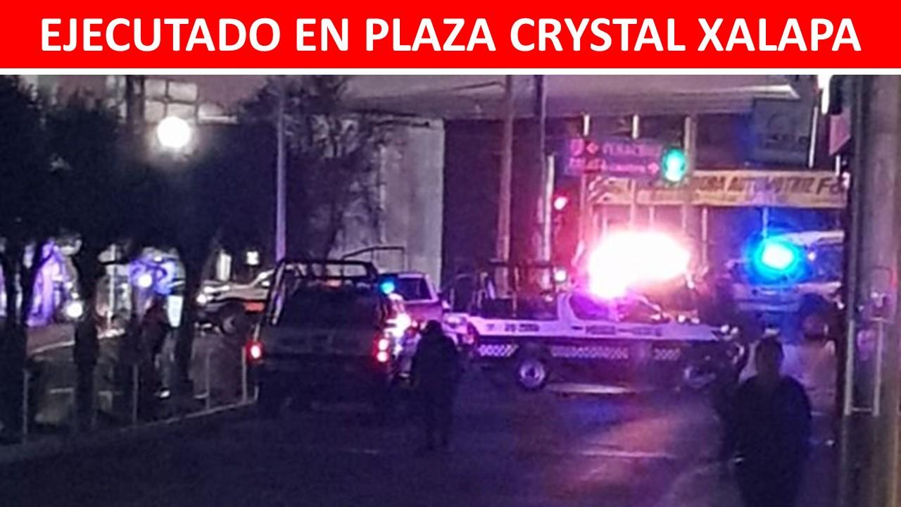 ejecutado en plaza crystal