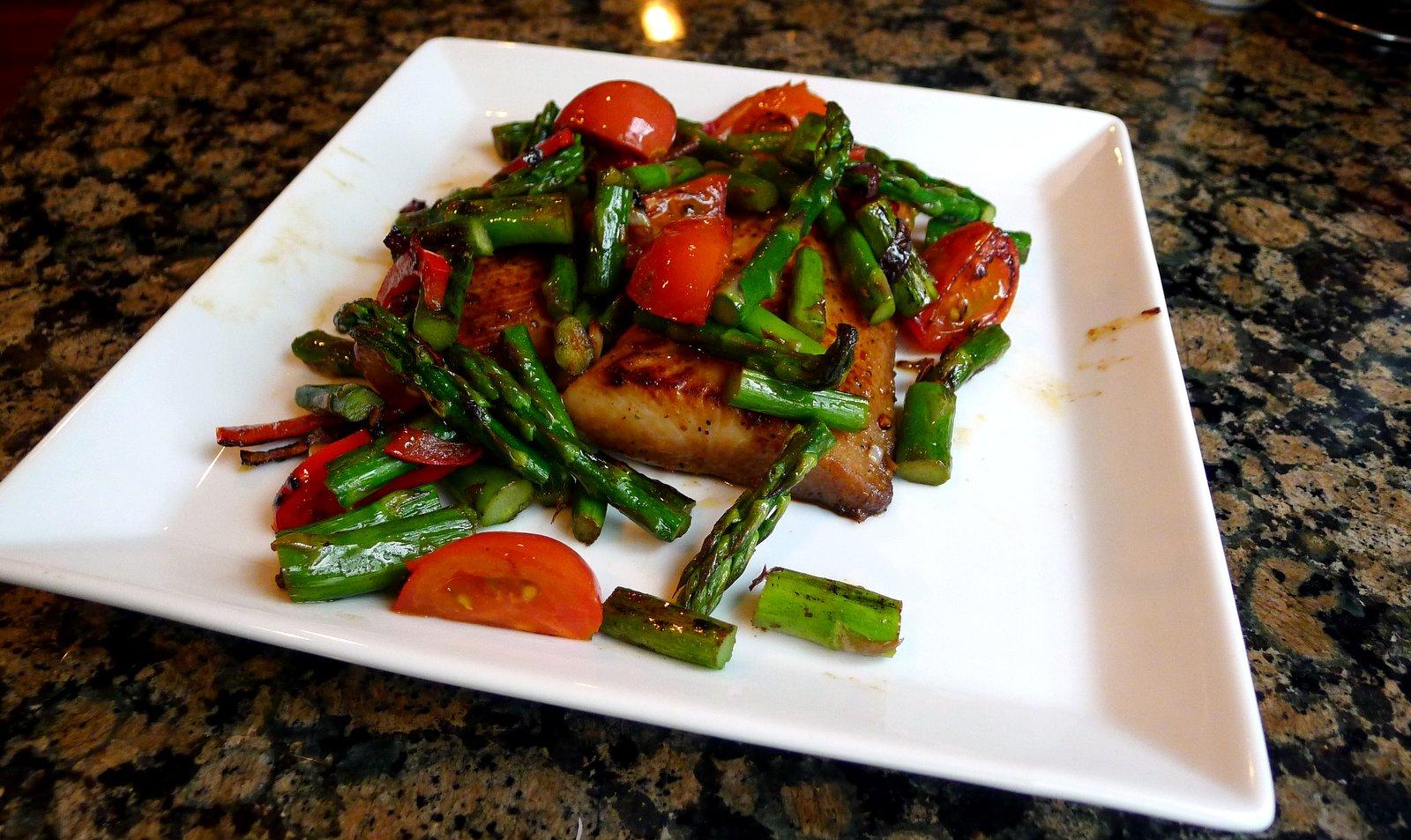 tasty makes happy mahi mahi with vegetables