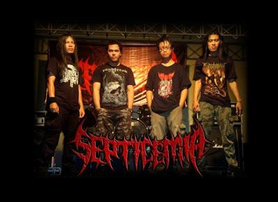 Septicemia Band Death Metal Yogyakarta Foto Logo Artwork Wallpaper