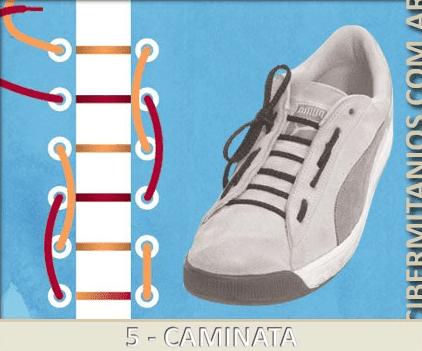 22 formas creativas de atarse los cordones