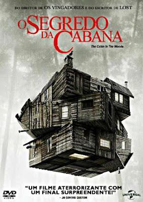 Filme Poster O Segredo da Cabana DVDRip XviD Dual Audio & RMVB Dublado