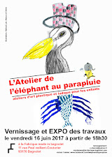 Le 16 juin à partir de 18h30 Vernissage de l'EXPO des  travaux des élèves