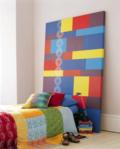 Headboard i think its perfect for kids room low height and easy to