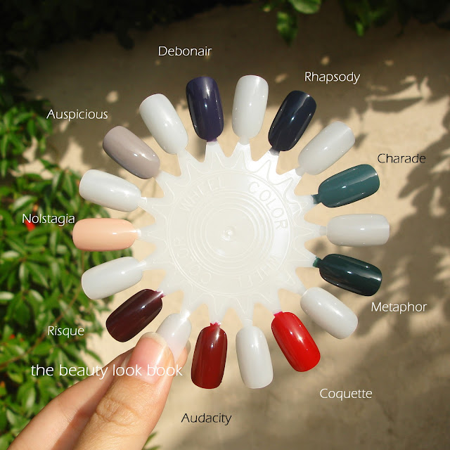 Nail Polish Swatch Book: The Beauty Look Book: JINsoon Nail Lacquers