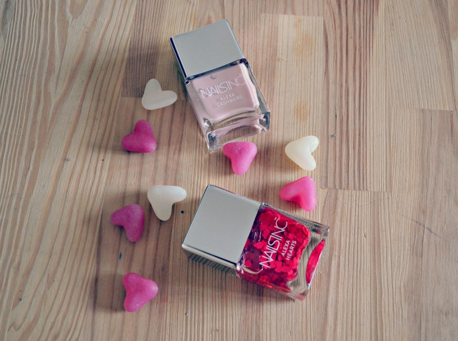 Alexa Chung Hearts Nails Inc Collection