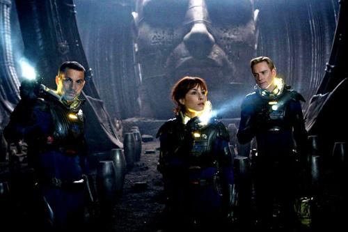 Prometheus film spoiler Logan Marshall-Green Noomi Rapace Michael Fassbender