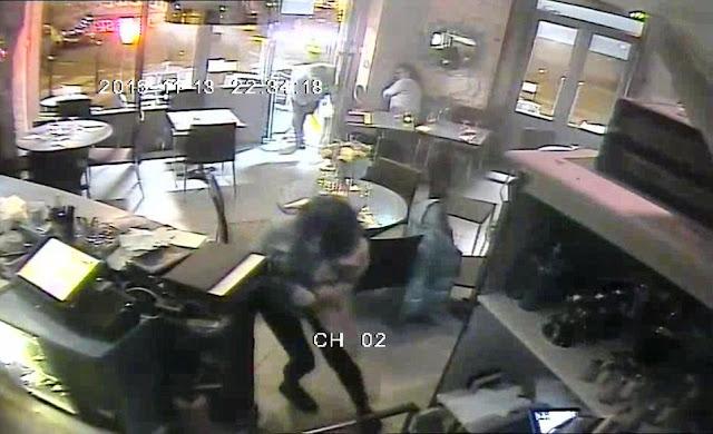 Vidéo de l'attaque contre un des restaurants visés lors des attentats de Paris