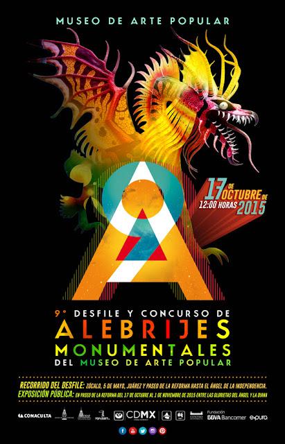 Noveno Desfile y Concurso de Alebrijes Monumentales del MAP