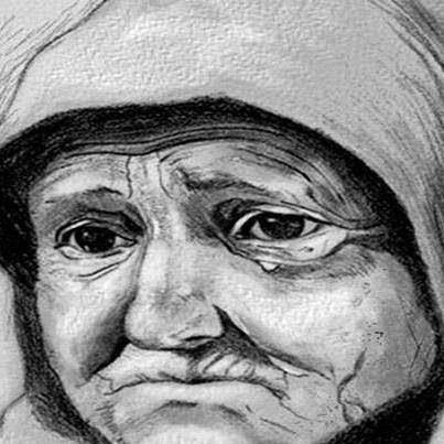 قصة المرأة العجوز الذكية واللص