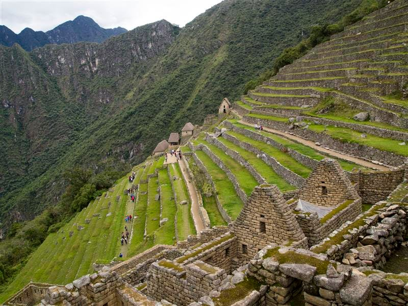 Terrazas agrícolas de Machu Picchu