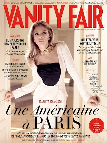 scarlett johansson looks gorgeous as she poses for vanity fair france july 2013