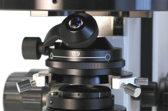 strain free microscope condenser