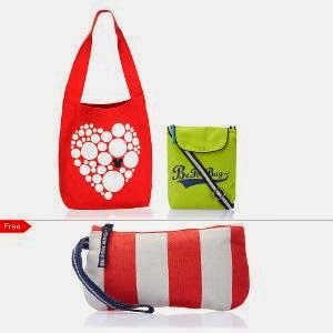 Homeshop18 : Be For Bag Cotton Canvas Tote Bag & Slingbag – Set Of 2 at Rs.849 : Buy To Earn