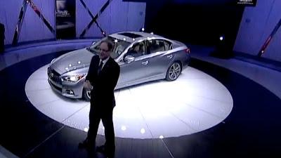 2014 Infiniti Q50 Luxury Sports Sedan Revealed in Detroit