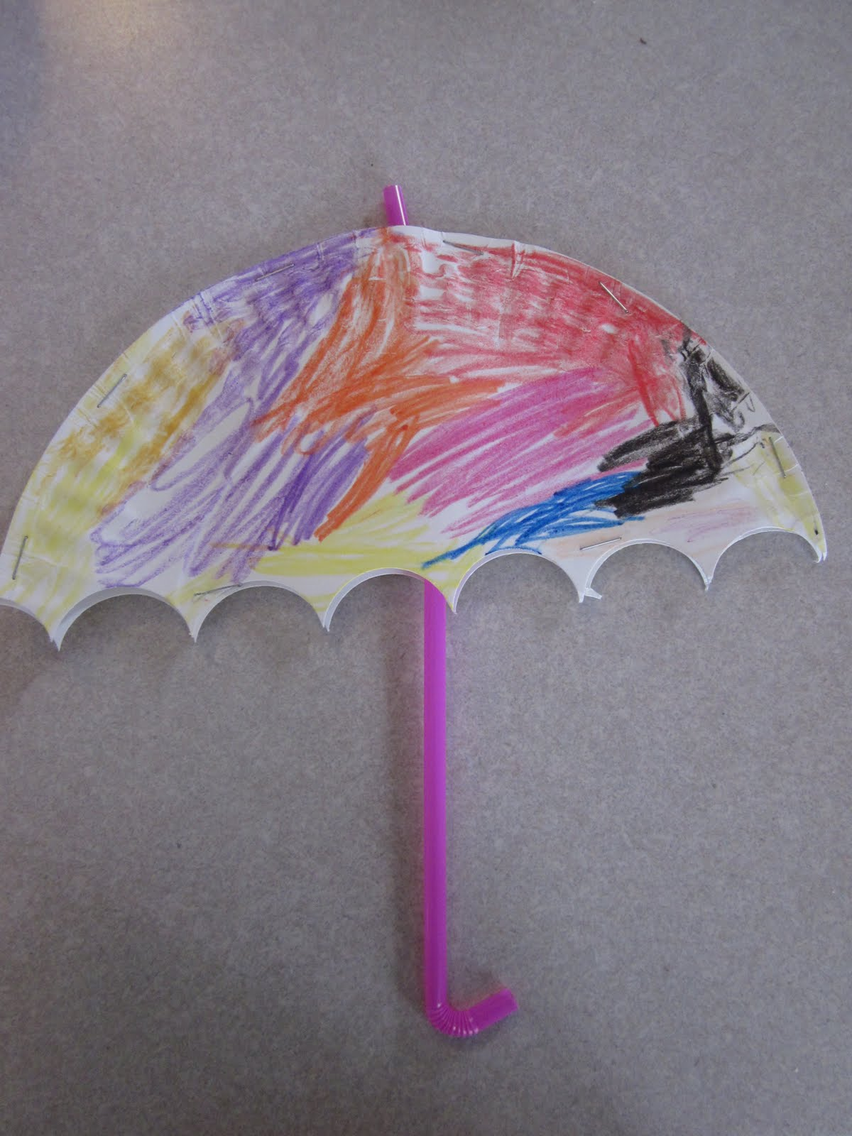 umbrella writing paper