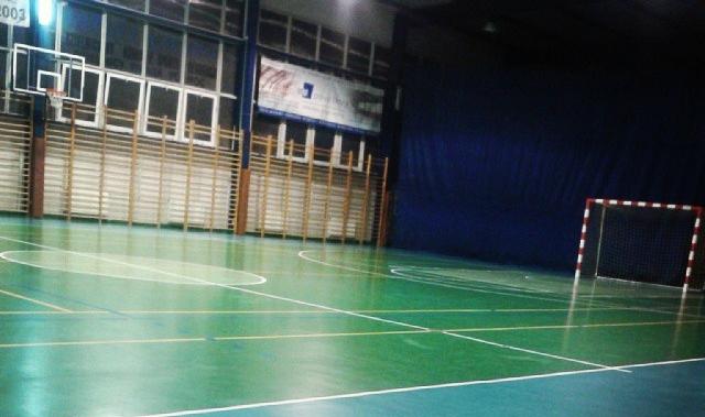 Pusta sala sportowa - fot. Tomasz Janus / sportnaukowo.pl
