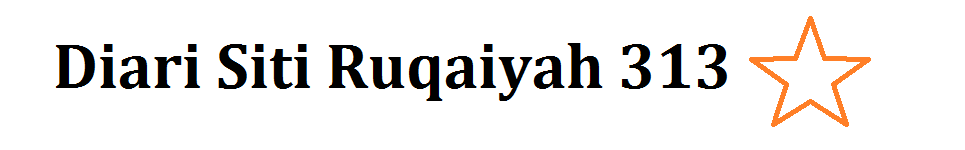Diari Siti Ruqaiyah 313