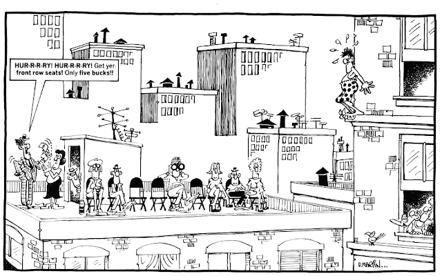 Don Martin: Front row seats