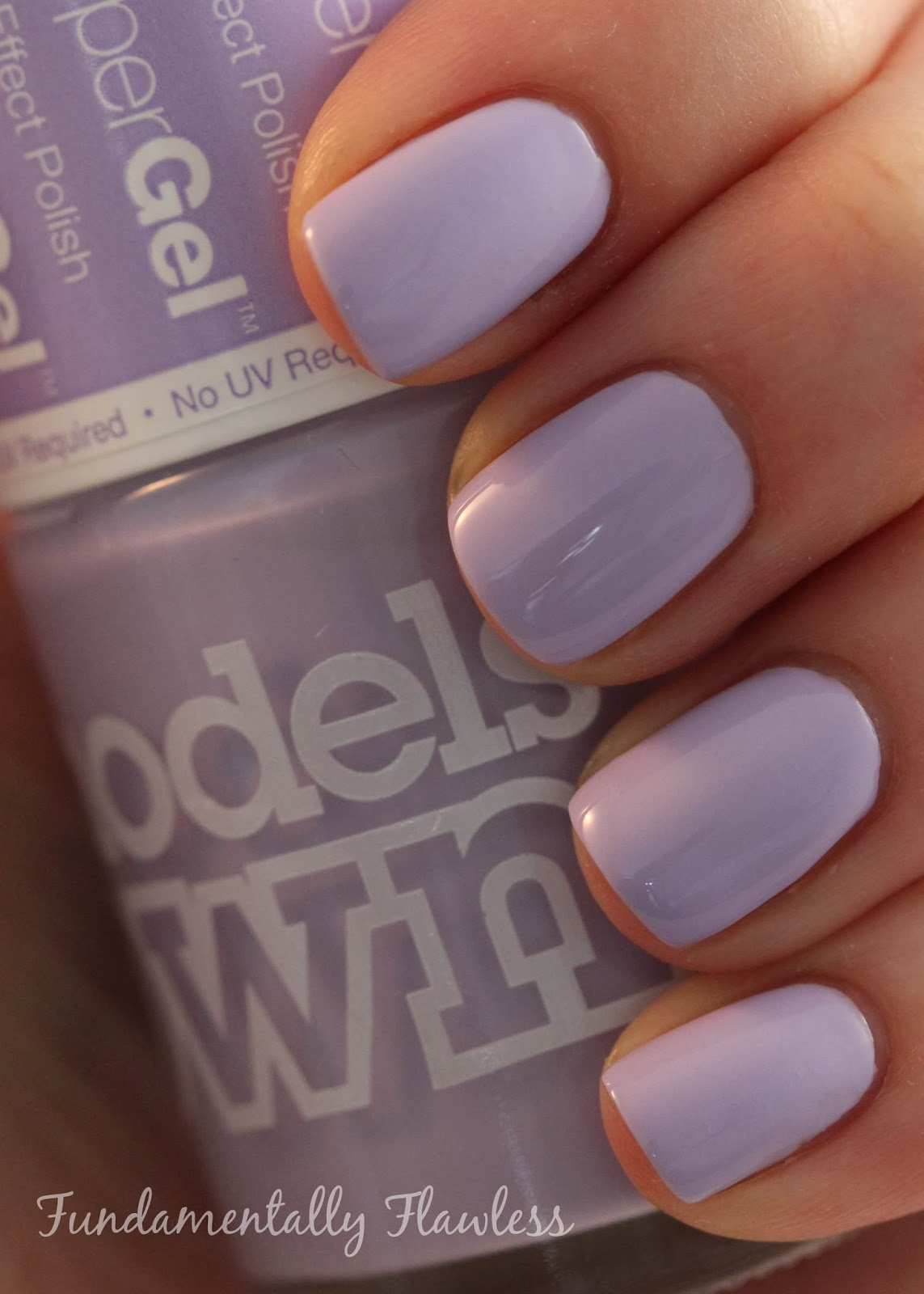 Models Own HyperGel Lilac Sheen swatch