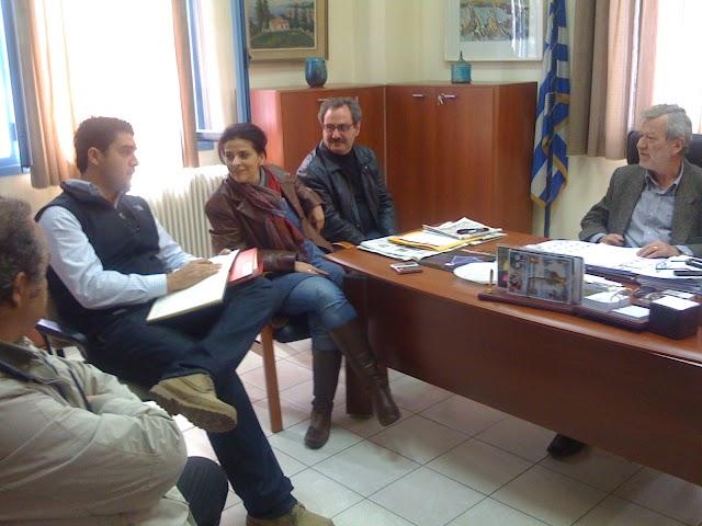 Συνάντηση Κόλλια με το Σύλλογο Μηχανικών Τρφυλίας