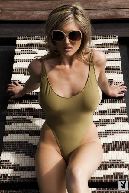 Katie Vernola Sexy in Swimsuit