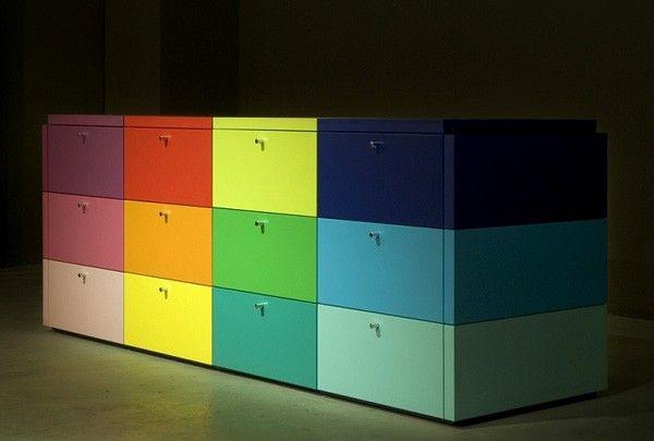 Como reciclar muebles con colores y patrones como hacer - Colores para reciclar ...