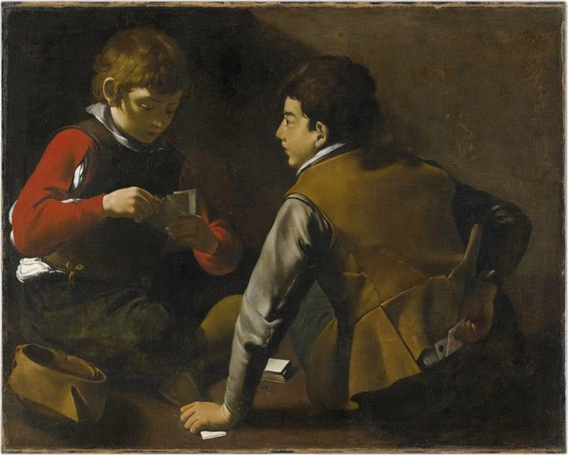 The Card Players at the Fogg Museum of Art