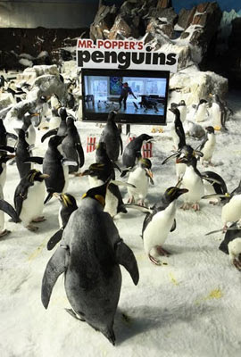 Os Pinguins do Papai, de Mark Waters