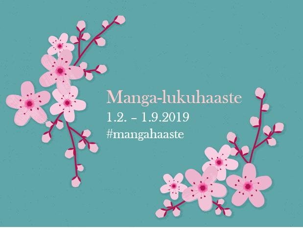 Manga -lukuhaaste (1.2. - 1.9.2019)