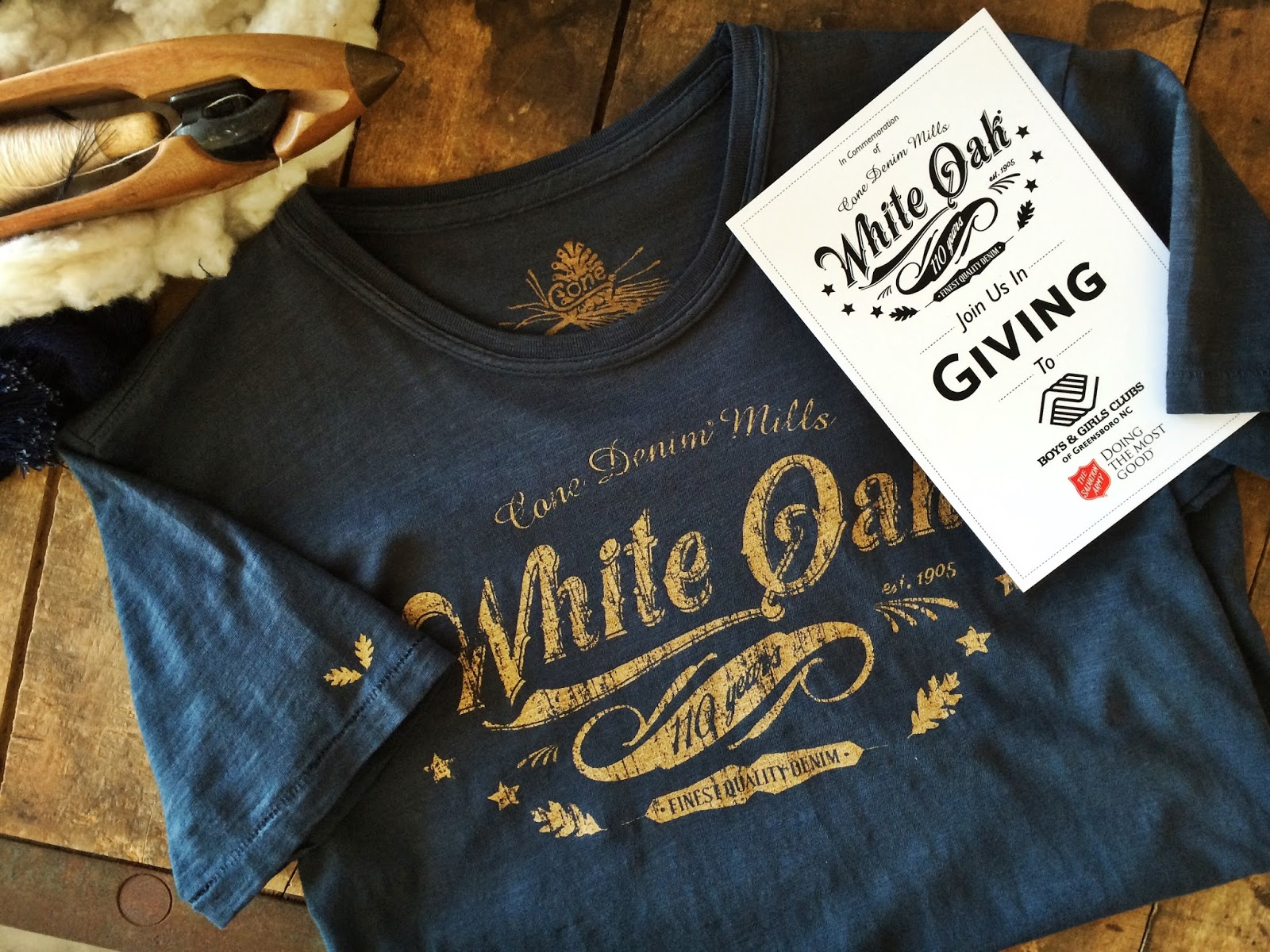 1634071633 SPECIAL HOLIDAY PROMOTION ON WHITE OAK 110 COMMEMORATIVE TEES