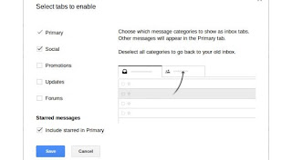 lethal options Inbox tab in Gmail