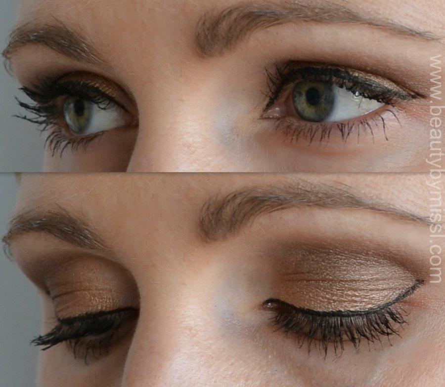 eotd, eye makeup look, simple eye makeup, Vivo Cosmetics eye shadows