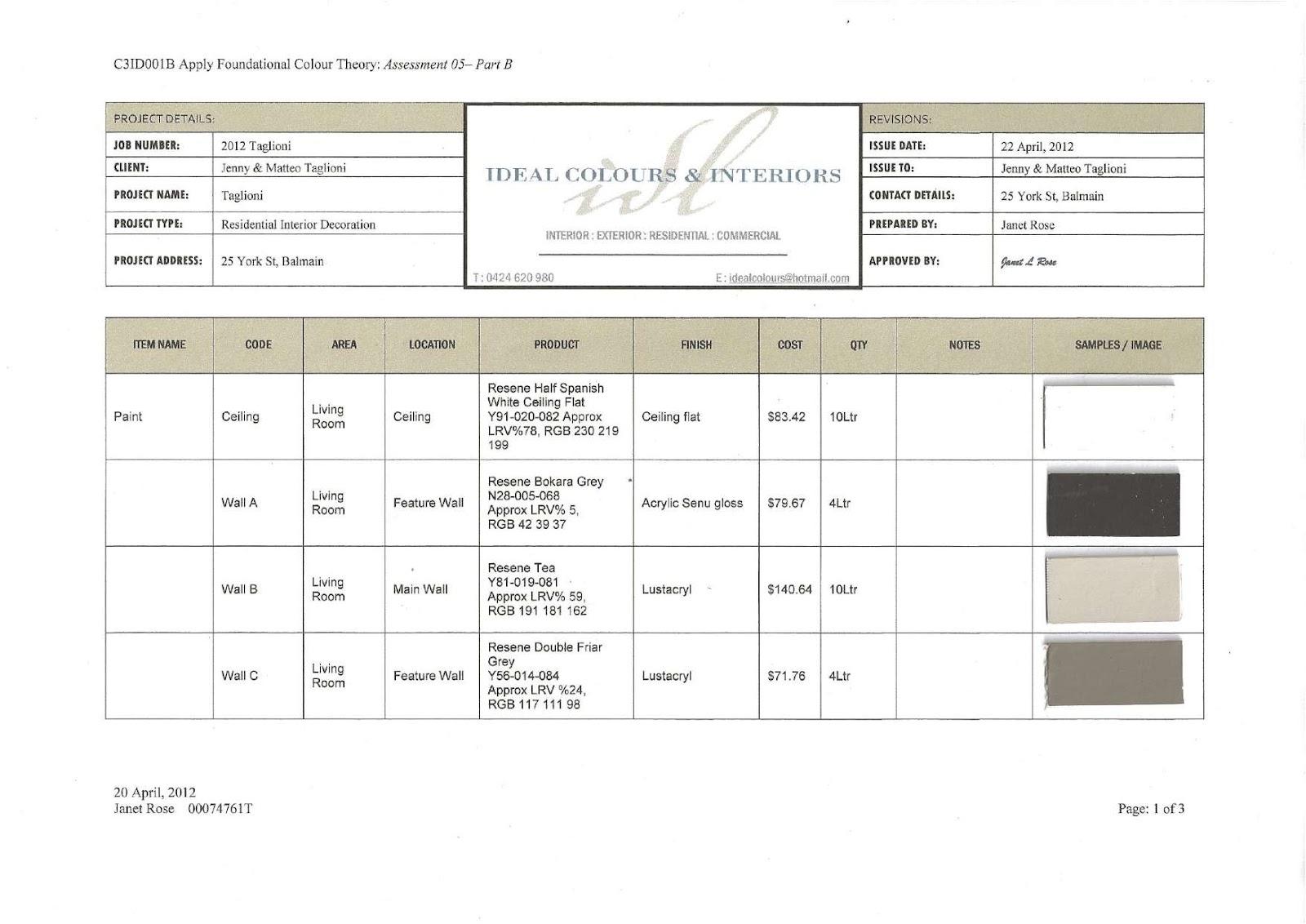 Black Crappie Paint Schedule