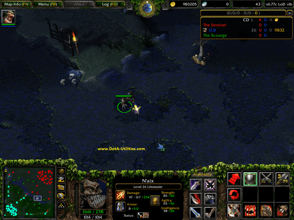 dota 6 78c lod v2g map download legends of dota dota utilities