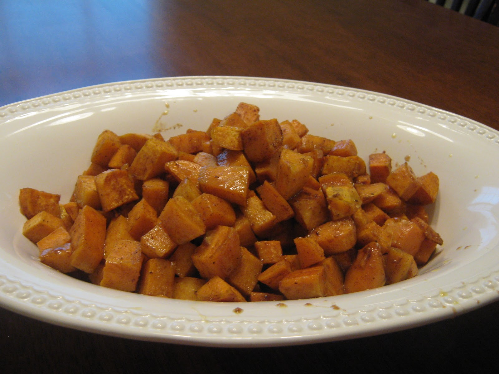 how to make roasted sweet potatoes with honey and cinnamon