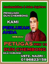Kami perlukan anda sebagai petugas PRU13